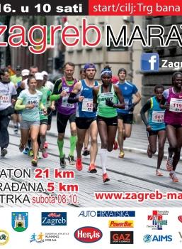 Službeni rezultati utrka 25. zagrebačkog maratona