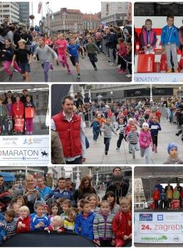 Dječja utrka 25. Zagrebačkog maratona